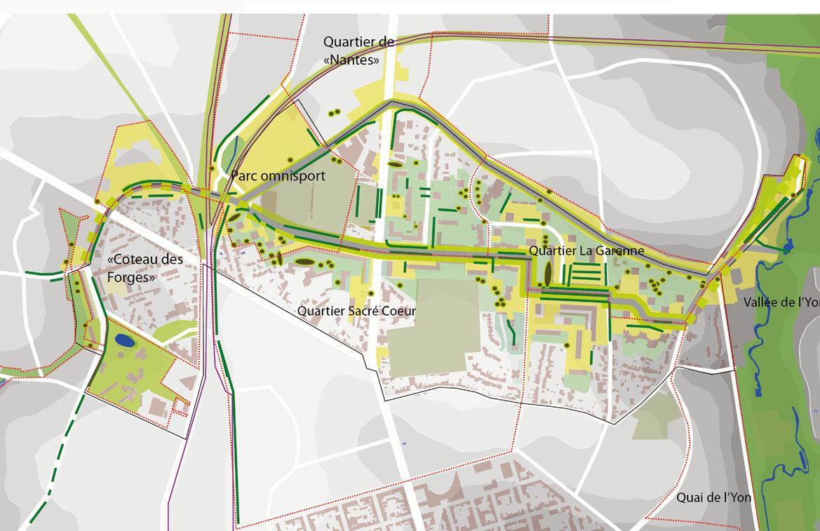 Quartiers Nord de La Roche-sur-Yon (ANRU) | Olivier Hostiou ... - Paysagiste La Roche Sur Yon